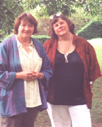 Maria Mies with Theresa Wolfwood
