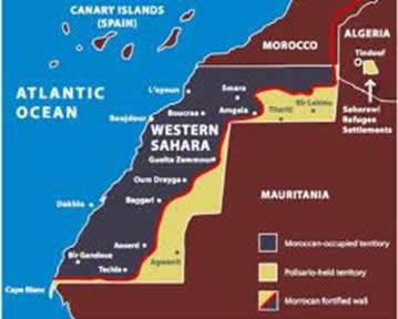 Western Sahara book review by Theresa Wolfwood